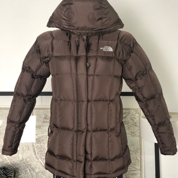 The North Face Jackets & Blazers - The North Face •600 Brown Hooded Down Jacket Coat